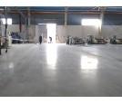 Ứng dụng Mài bóng và tăng cứng bề mặt sàn bê tông: Nhà máy, nhà xưởng sản xuất